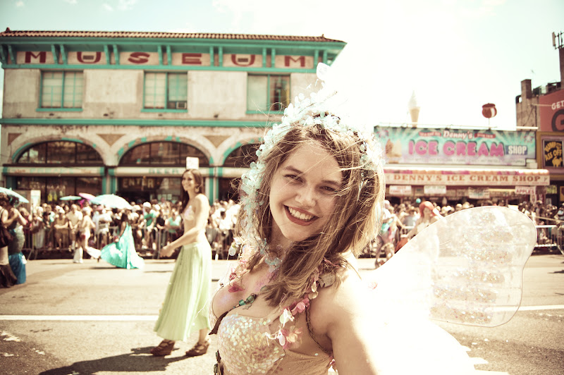 Photo: Coney Island Mermaid Parade 2012 - View my post about it here on my site: http://goo.gl/YyqvK