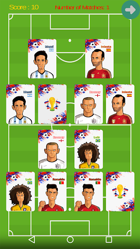 WorldCup2018Cards screenshot 1