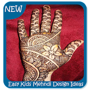Easy Kids Mehndi Design Ideas