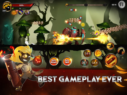 Stickman Legends: Shadow Wars  mod screenshots 1