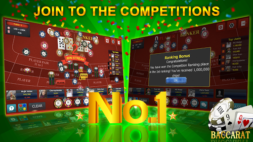 Baccarat 9 - Online Casino Card Games android2mod screenshots 5