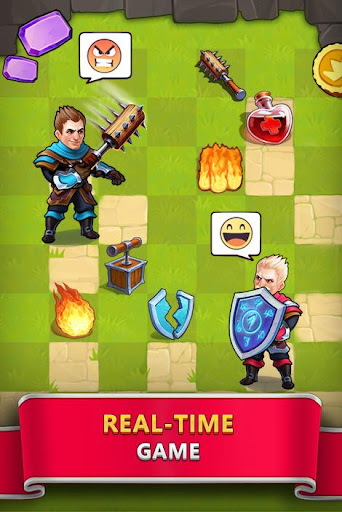 Tile Tactics: PvP Card Battle & Strategy Game screenshot 3
