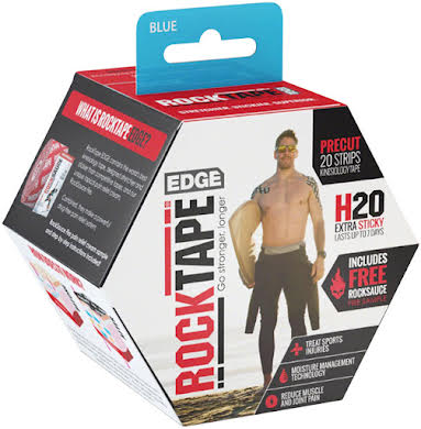 RockTape H2O Edge Precut Kinesiology Tape - Roll of 20 Strips alternate image 1
