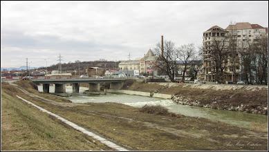 Photo: Turda - Str. Ştefan cel Mare intersectie cu Piata Romana - Podul Mare din Beton  Dig si Raul Aries - 2019.02.21