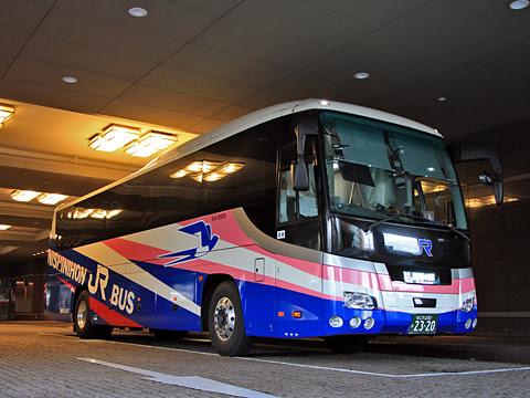 西日本JRバス「青春ドリーム信州号」 2320 長野駅にて