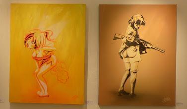 Photo: CityLeaks 2015; Ausstellung Galerie 30Works; ROURKE VAN DAL