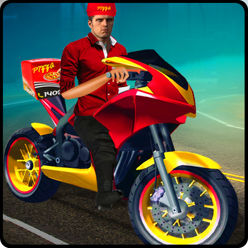 Impossible Moto driving - Rush Pizza Delivery 2017 (game)