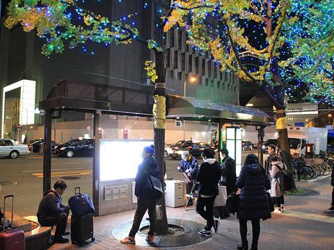 近鉄バス「しまんとブルーライナー」 8804 大阪駅前 近鉄バスのりば