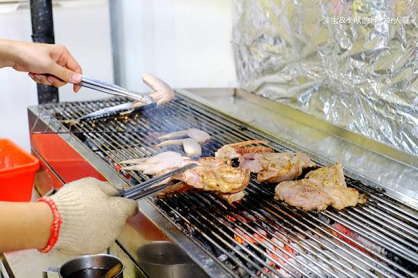 米噹泰式碳烤│台中也吃的到來自花蓮人氣店的平價現烤好滋味喇!烤功有厲害,招牌泰式烤肉必點喔~