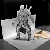 Draw Ninja Assassin Creed