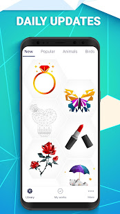 Download POLYGON: Color by Number APK on PC