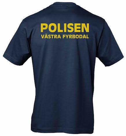 T-shirt bomull VÄSTRA FYRBODAL