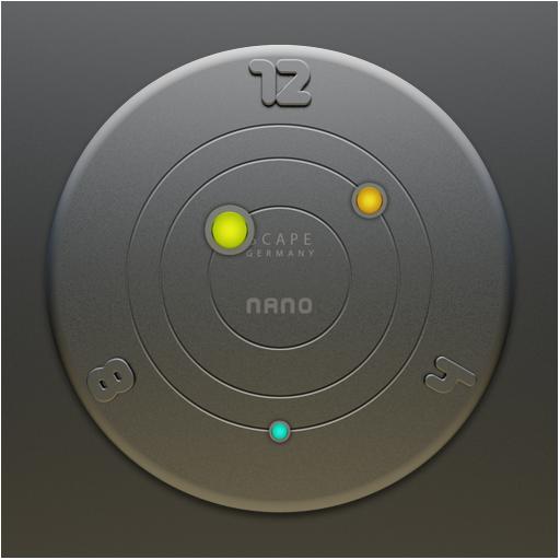 NANO Designer Clock Widget