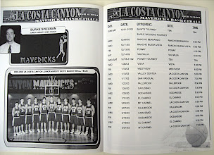 Photo: Typical inside spread for a program.