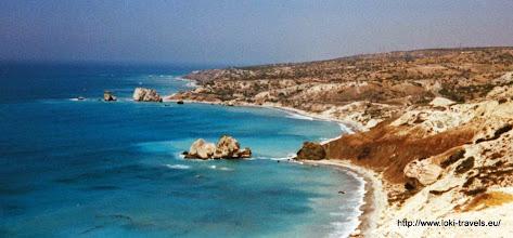 Photo: Pissouri kust, de zogenaamde geboorteplaats van Aphrodite | Pissouri coast, so called the birthplace of Aphrodite.