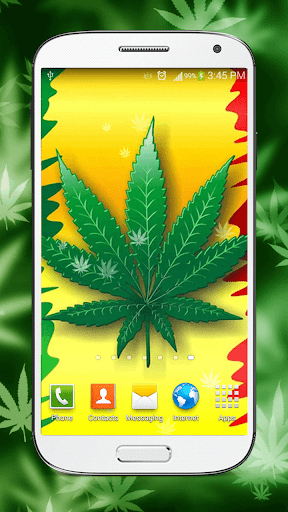 ... Screenshot for Rasta Weed Live Wallpaper in United States Play Store ...