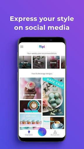 Ripl: Easily Create Social Posts in Minutes 4.0.109 screenshots 1