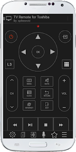 TV Remote Control for Toshiba- screenshot thumbnail