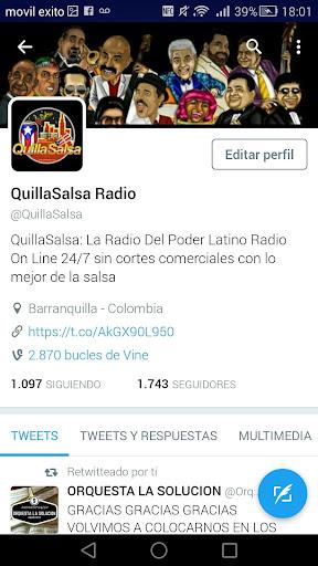 QuillaSalsa Radio Online screenshot 5