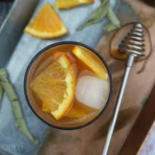 Orange Blossom Iced Tea