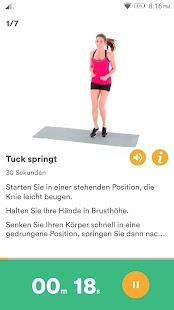 Gewichtsverlust Trainer - Körperfett reduzieren Screenshot