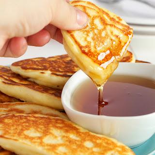Breakfast Sausage Pancake Dippers.