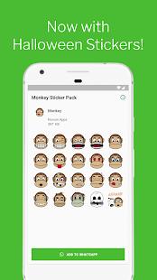 Monkey Stickers for WhatsApp (WAStickerApps) 3