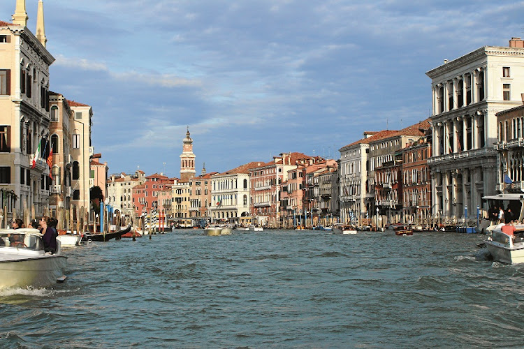Grand Canal. A  must see for the millions of tourists who visit Venice. Picture: MADELEINE MORROW