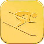 Ski Tracker Gold Edition Icon