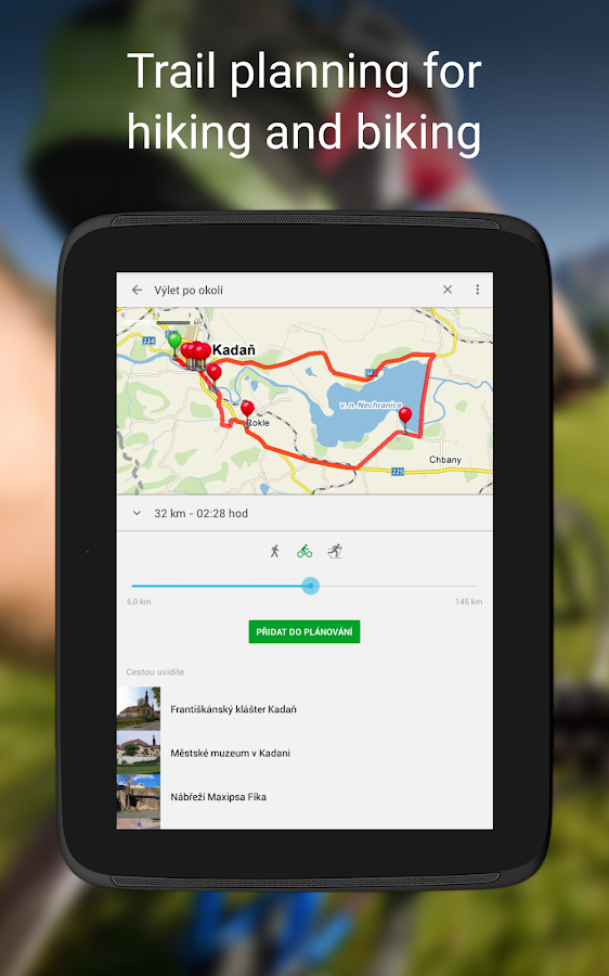 Mapy.cz - Cycling & Hiking Maps- screenshot