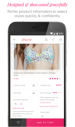 Zivame - Shop Lingerie, Activewear, Apparel Online 3.1.1 screenshots 4