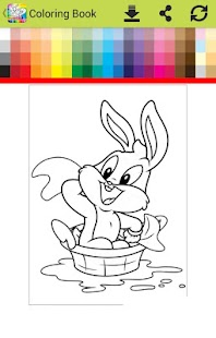 Coloring looney go new babies - náhled