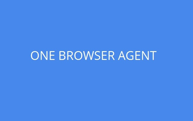 One Browser Agent