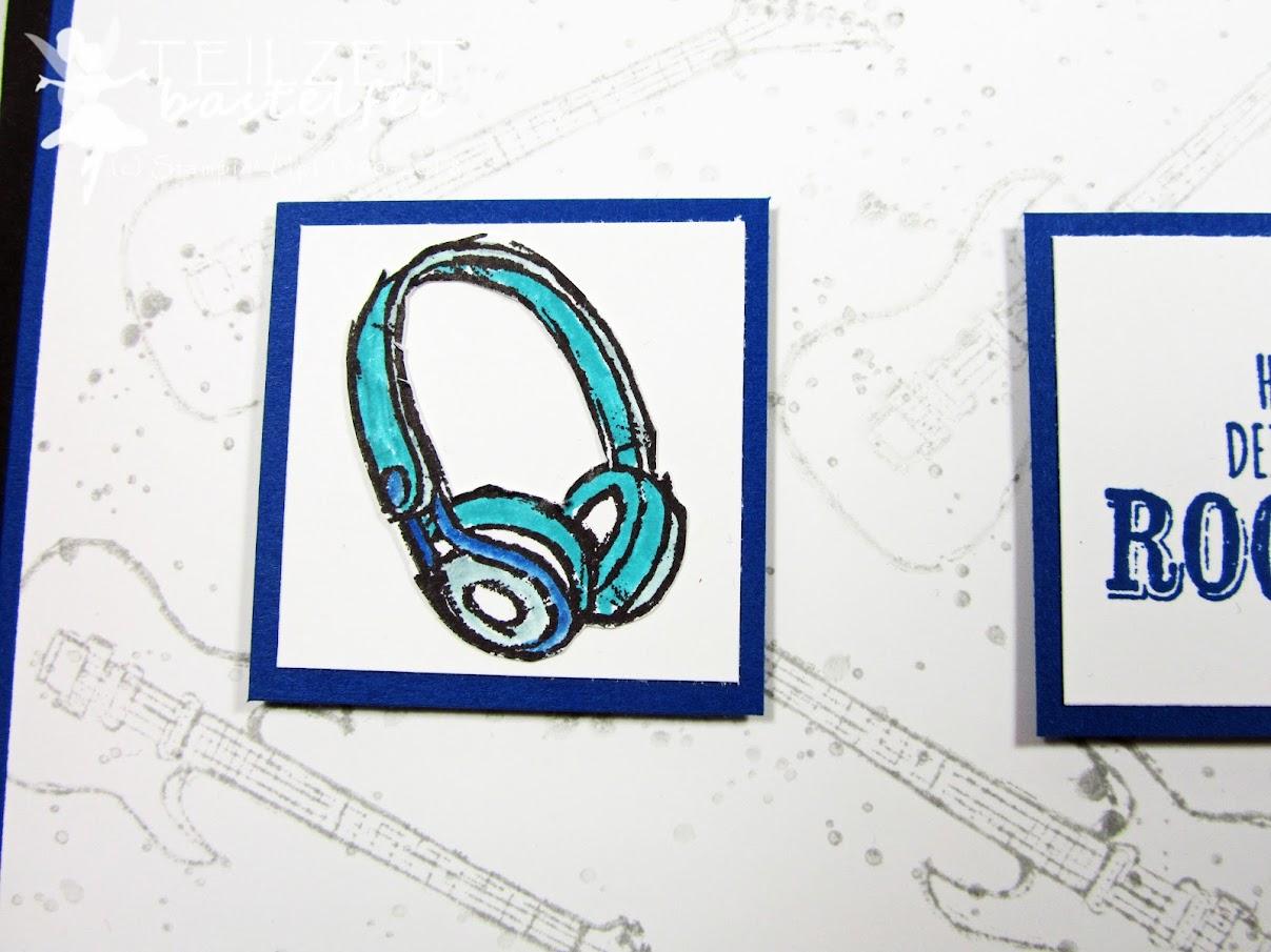 Konzertkarten-Umschlag zum Geburtstag | Teilzeit-Bastelfee
