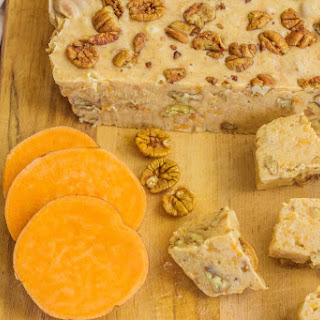 Sweet Potato Fudge with Buttered Salted Pecans.