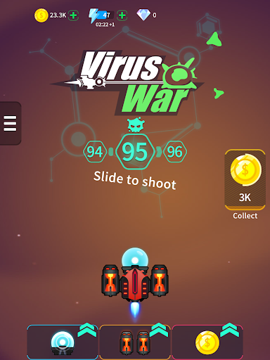 Virus War - Space Shooting Game - screenshot