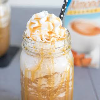 Frozen Caramel Frappuccino.