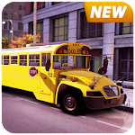Kids Transport : School Bus Driving Simulator 3D Icon