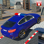 Police Car Roof Stunts Icon