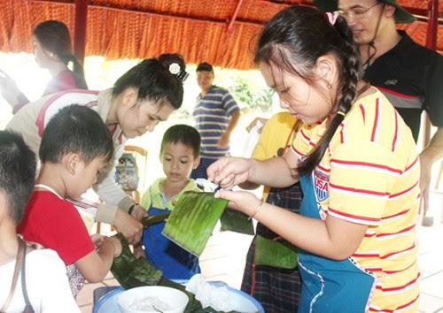 Khu du lịch Bửu Long, nông trại tuổi thơ