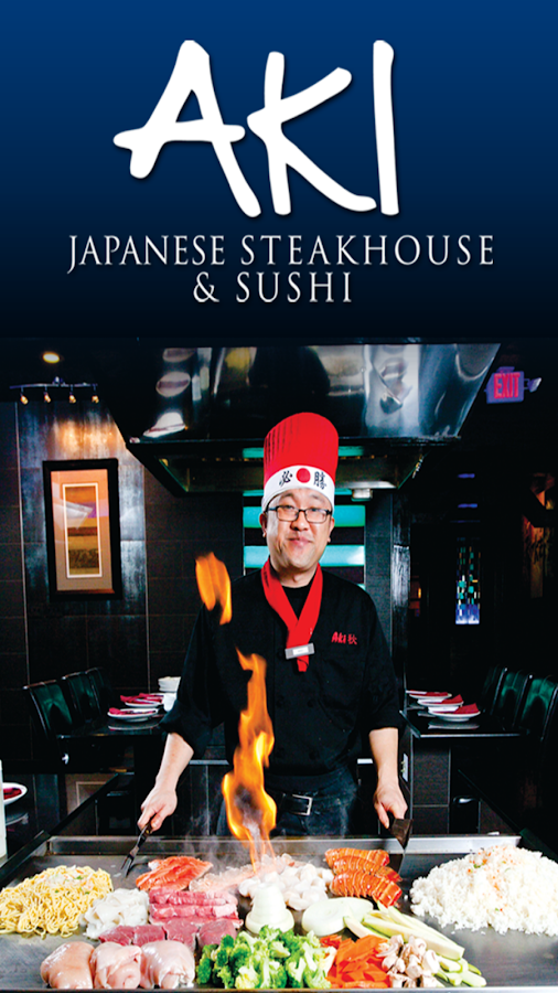 Aki japanese steakhouse android apps on google play for Aki japanese cuisine