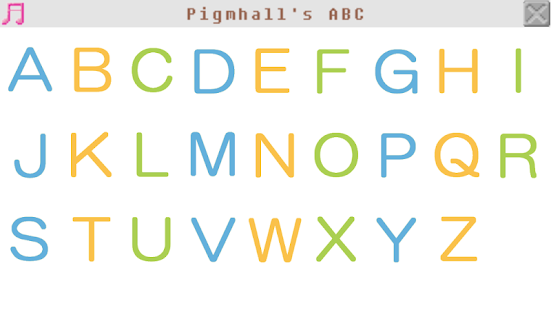 Pigmhall's ABC- screenshot thumbnail