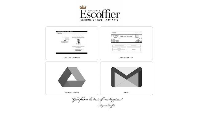 Escoffier's New Tab