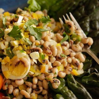Marinated Blackeye Peas (Salada de Feijo Frade).