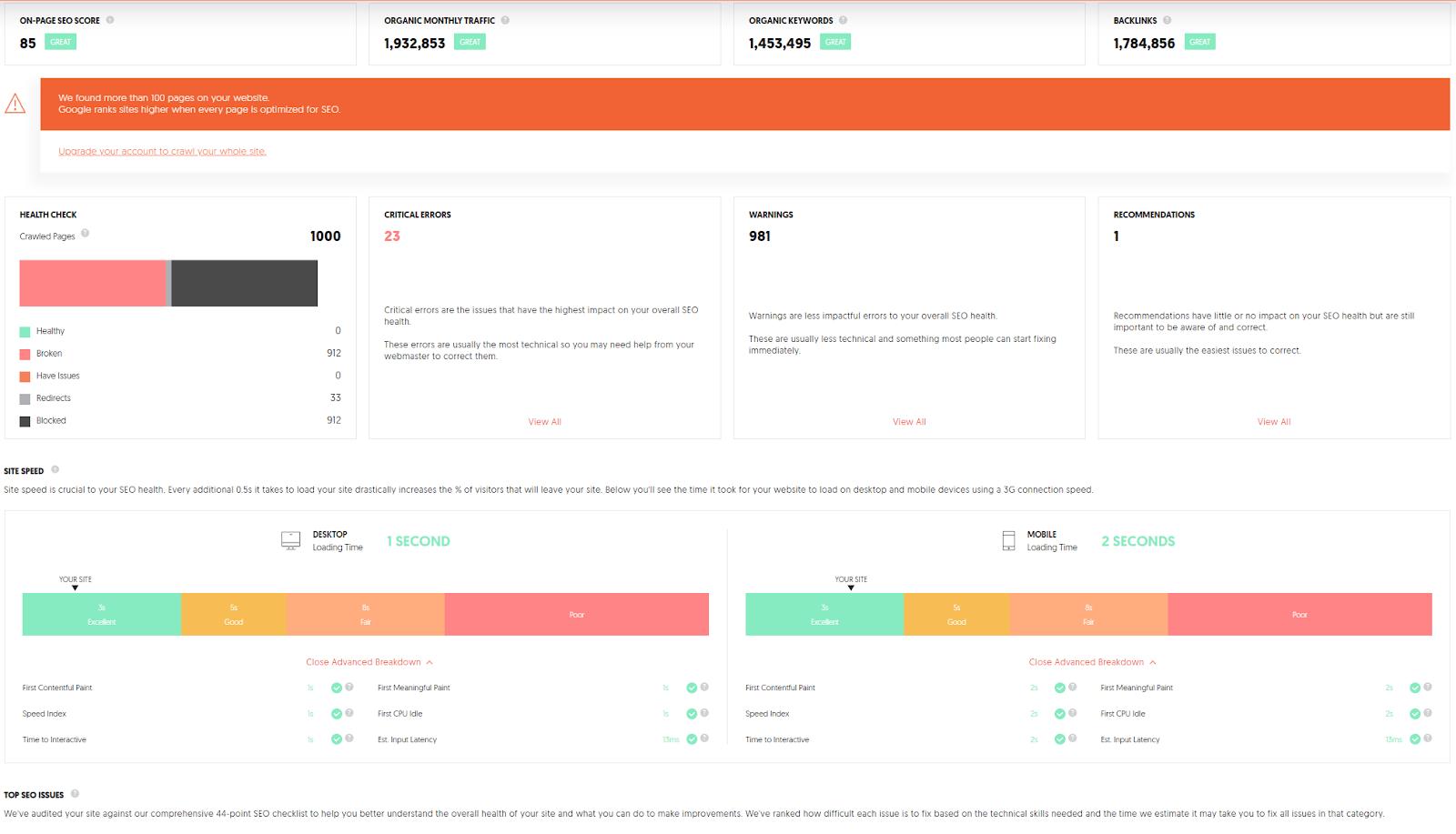 11 Best Website SEO Checker Tools 2