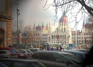 Photo: Parlament z Batthányi tér (33-świetlne wariacje)