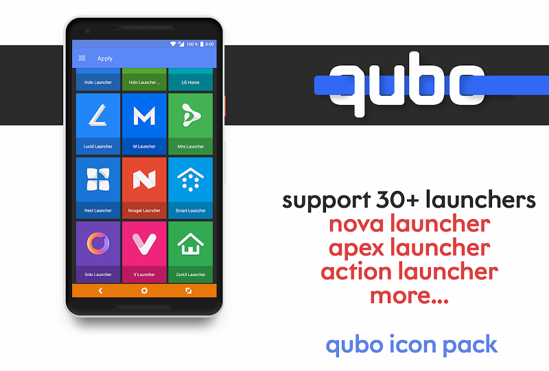 Qubo Icon Pack Screenshot 4