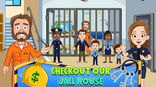 My Town : Police Station Pretend games for Kids 3