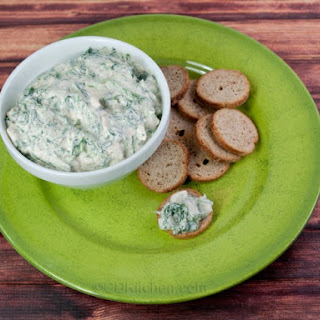 Spinach Dip With Water Chestnuts.