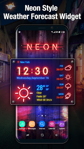 weather on home screen 15.1.0.46080 screenshots 2
